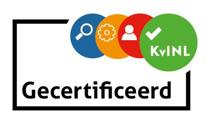 KvINL gecertificeerd logo